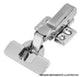 Miniatura imagem do produto Dobradiça Easy Click Slow Inox Reta TN Calço Duplo 105°
