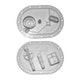 Miniatura imagem do produto Flange da Bomba de Combustível - TSA - T-030016 - Unitário