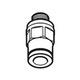 Miniatura imagem do produto Tubo de conexão macho G1/8 - SKF - LAPF M1/8 - Unitário