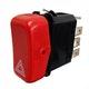 Miniatura imagem do produto Interruptor Pisca Alerta Emergência Mercedes 6885457124 Marcopolo 27200141-3 12V Ch Comutadora - DNI - DNI 2102 - Unitário