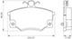 Miniatura imagem do produto Pastilha de Freio - BB 335-A - Bosch - 0986BB0080 - Par