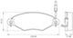 Miniatura imagem do produto Pastilha de Freio - BB 412 - Bosch - 0986BB0101 - Jogo