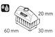 Miniatura imagem do produto Escova 30 x 60 mm - SKF - LAPB 3x7E1 - Unitário