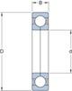 Miniatura imagem do produto Rolamento de Esferas de Contato Angular - SKF - QJ 210 MA - Unitário