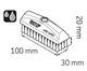Miniatura imagem do produto Escova 30 x 100 mm - SKF - LAPB 3x10E1 - Unitário