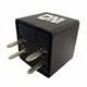 Miniatura imagem do produto Relé Auxiliar Reversor com Resistor e 4 Terminais (Tipo Agulha) Gm / Kia / Hyundai - 12V - DNI - DNI 8120 - Unitário