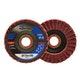 Miniatura imagem do produto Disco flap Vortex - médio vermelho - Norton - 66261122503 - Unitário
