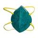 Miniatura imagem do produto Máscara Descartável sem Válvula Dobrável contra Pós e Névoas - 3M - HB004416812 - Unitário