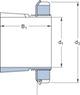 Miniatura imagem do produto Bucha de fixação - SKF - H 206 - Unitário