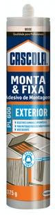 Miniatura imagem do produto Adesivo Bege Monta e Fixa PL600 Externo 375g Henkel