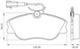 Miniatura imagem do produto Pastilha de Freio - BB 484-A - Bosch - 0986BB0171 - Par