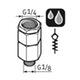 Miniatura imagem do produto Válvula antirretorno G1/8 - SKF - LAPV 1/8 - Unitário