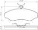 Miniatura imagem do produto Pastilha de Freio - BB 107 - Bosch - 0986BB0285 - Par