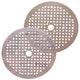 Miniatura imagem do produto Disco de lixa seco A275 grão 320 150mm c/ 180 furos - Norton - 69957349657 - Unitário
