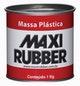 Miniatura imagem do produto Massa Cola Plástica Branca com Catalisador 400g 1MG062 - MAXI RUBBER - 1MG062 - Unitário