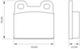 Miniatura imagem do produto Pastilha de Freio - BB 0015/BB 5 - Bosch - 0986BB0251 - Par
