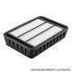 Miniatura imagem do produto Filtro do Ar Condicionado - FILTROS BRASIL - FB201 - Unitário