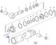 Miniatura imagem do produto Jogo de Vedação do Cilindro de Inclinação - Volvo CE - 17253817 - Unitário