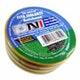 Miniatura imagem do produto Fitaisolante em PVC Verde e Amarela Rolo de 5 Metros - DNI - DNI 5029-VA - Unitário