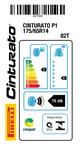 Miniatura imagem do produto Pneu 175/65R14 Cinturato P1 82T - Pirelli - 2471000 - Unitário