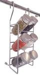 Miniatura imagem do produto Porta Temperos Suspenso com 6 Potes Inox 130 x 300 x 95mm