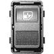 Miniatura imagem do produto Tecla Simples Acionadora do Vidro da Porta Traseira - Universal - 90289 - Unitário