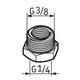 Miniatura imagem do produto Pino graxeiro G1/4 – G3/8 - SKF - LAPN 3/8 - Unitário